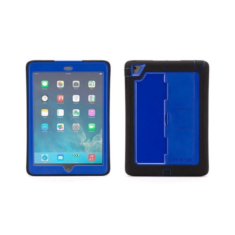 Griffin Survivor Slim case iPad Air 1 blauw/zwart