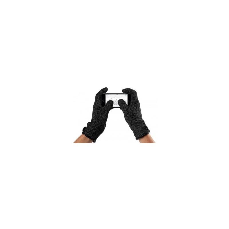 Mujjo Single-Layered Touchscreen gloves small zwart