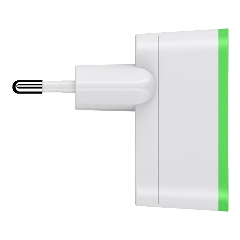 Wall Charger 2.1A Green