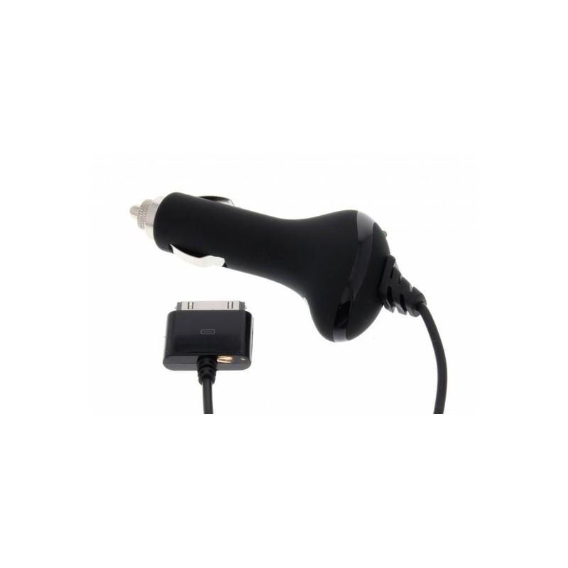 Muvit Dockconnector autolader 12V/24V iPod/iPhone zwart
