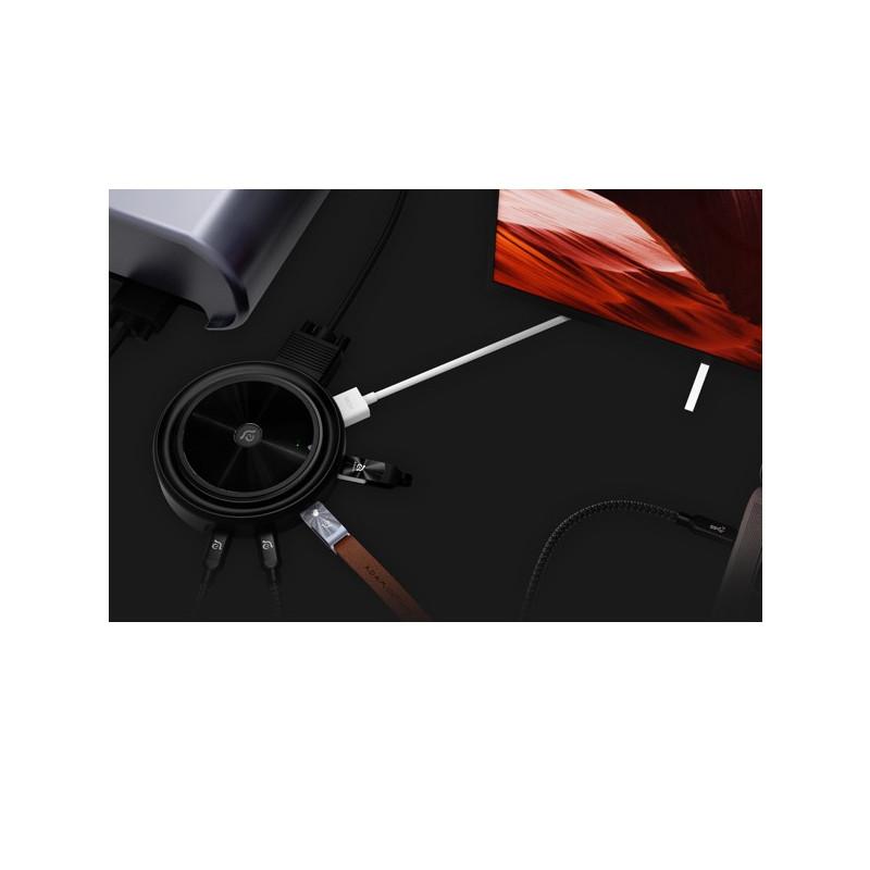 ADAM elements CASA Hub O7 USB-C 3.1 7 port Wireless Charger zwart
