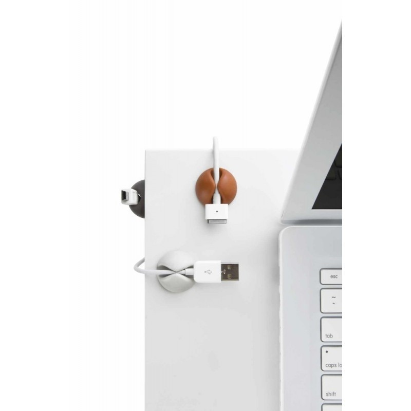 Bluelounge CableDrop 6-pack wit