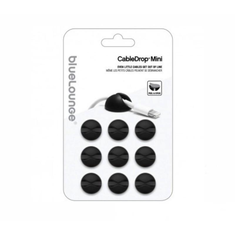 Bluelounge CableDrop Mini 9-pack zwart