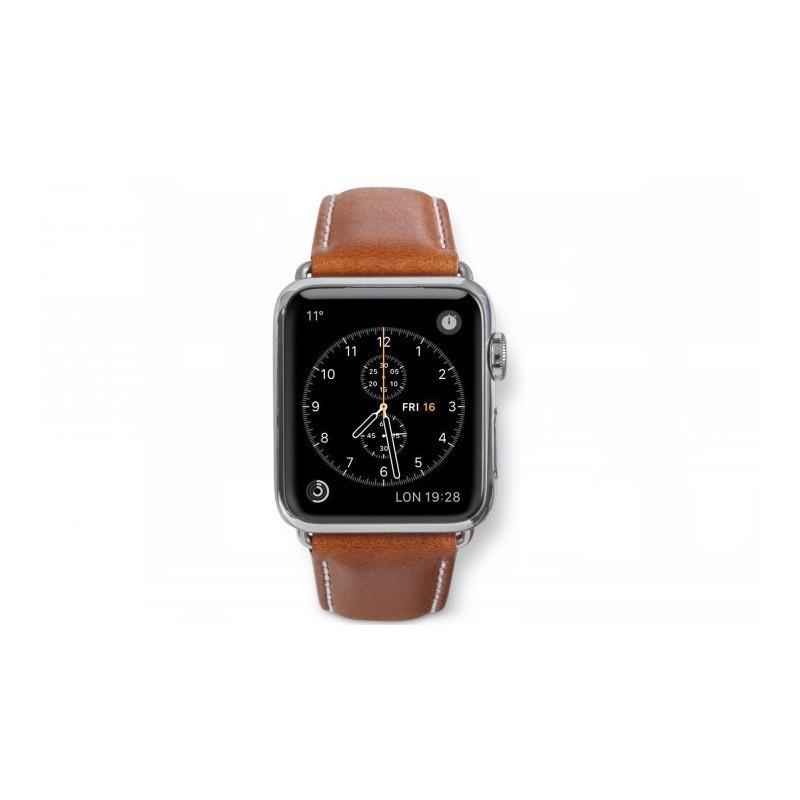dbramante1928 Copenhagen Apple Watch bandje 38 / 40 mm zilver / bruin