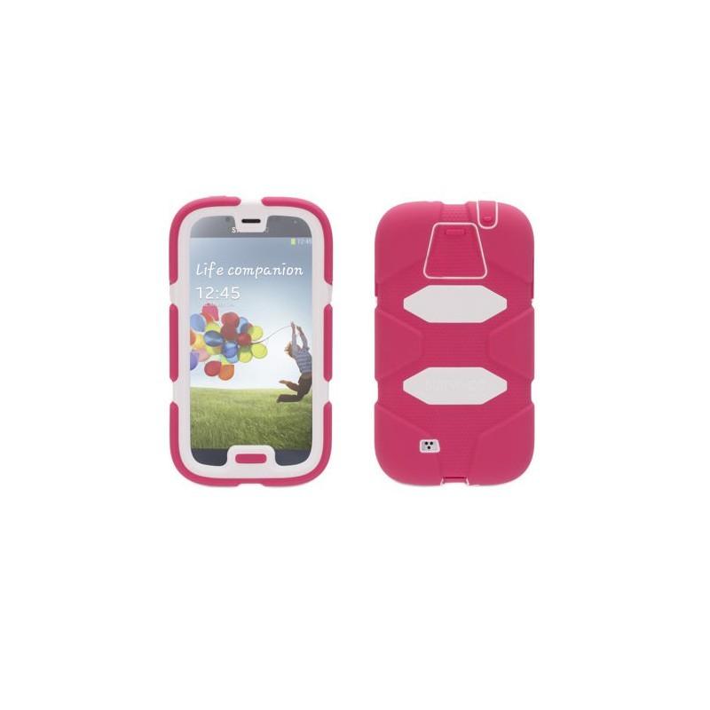 Griffin Survivor All-Terrain hardcase Galaxy S4 roze/wit