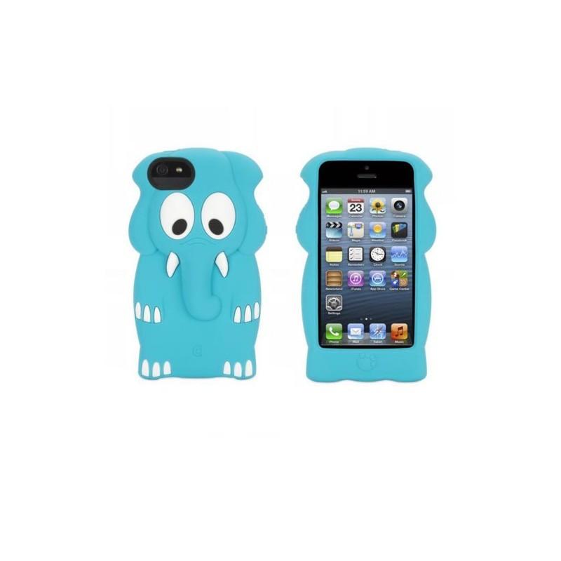 Griffin Kazoo iPhone 5(S) Elephant blauw