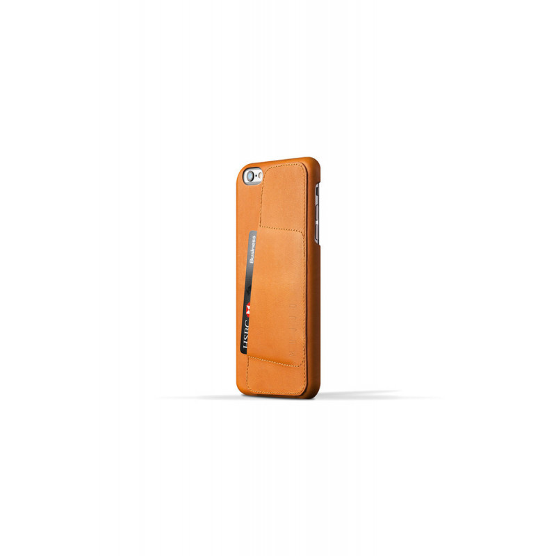 Mujjo wallet leren case iPhone 6(S) Plus bruin