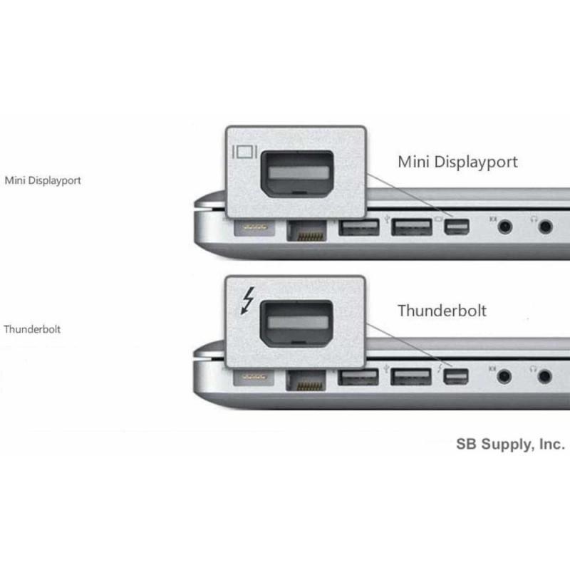 Mini DisplayPort-naar-HDMI-adapter met audio (Thunderbolt)