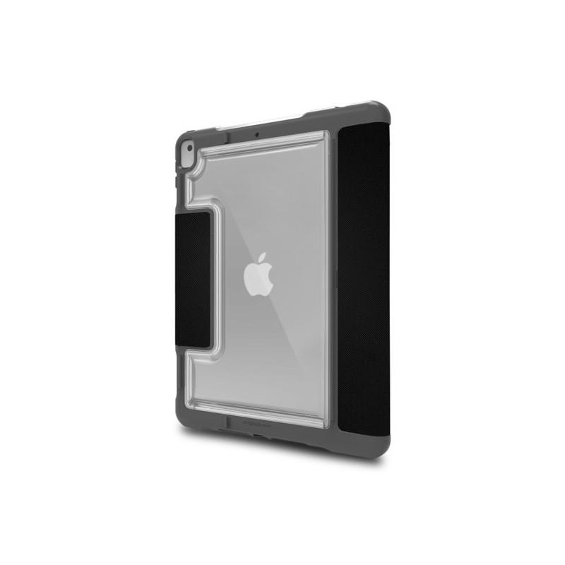 STM Dux Plus Duo - Cover iPad 10.2 2019 / 2020 - Nero