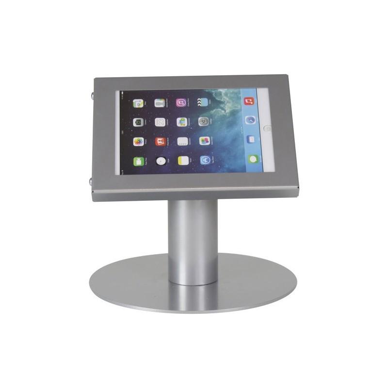 Tablet tafelstandaard Securo iPad Mini en Galaxy Tab 3 grijs
