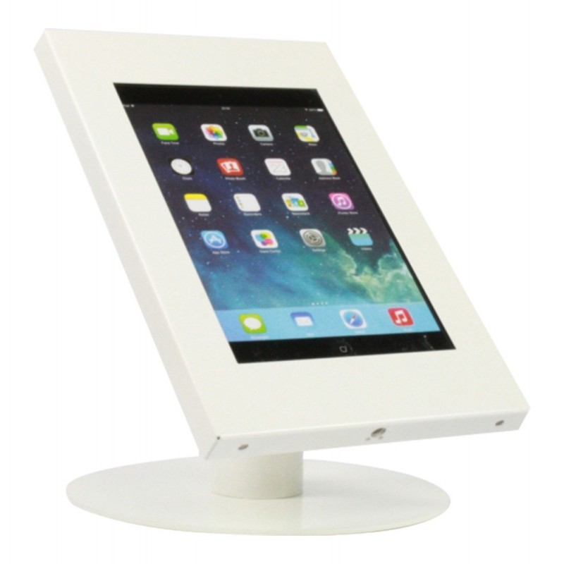 Tablet tafelstandaard Securo iPad en Galaxy Tab wit