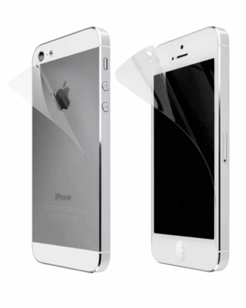 Screenprotector helder iPhone 5(S)/SE (voor en achter)