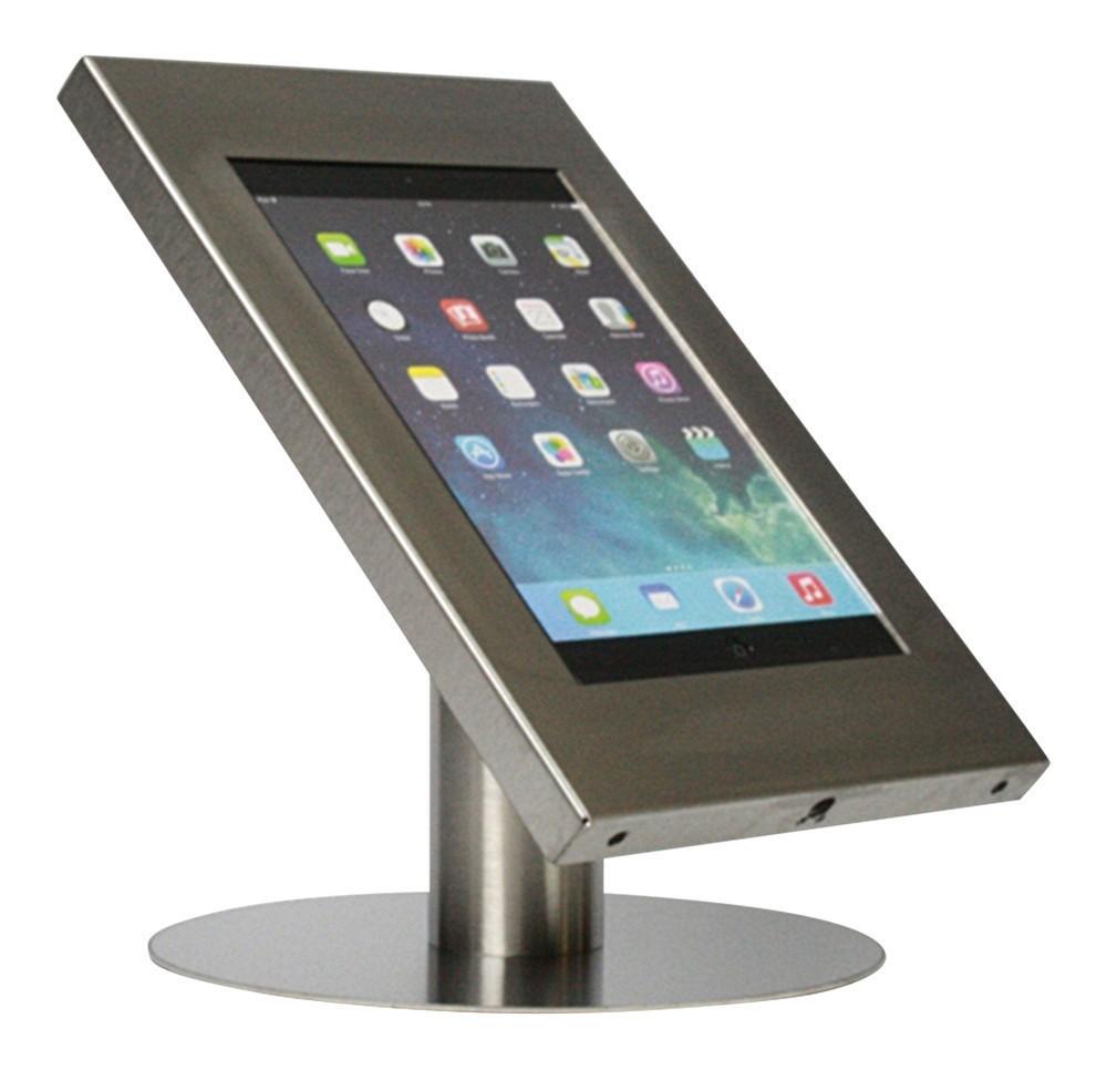 Tablet tafelstandaard Securo iPad en Galaxy Tab RVS