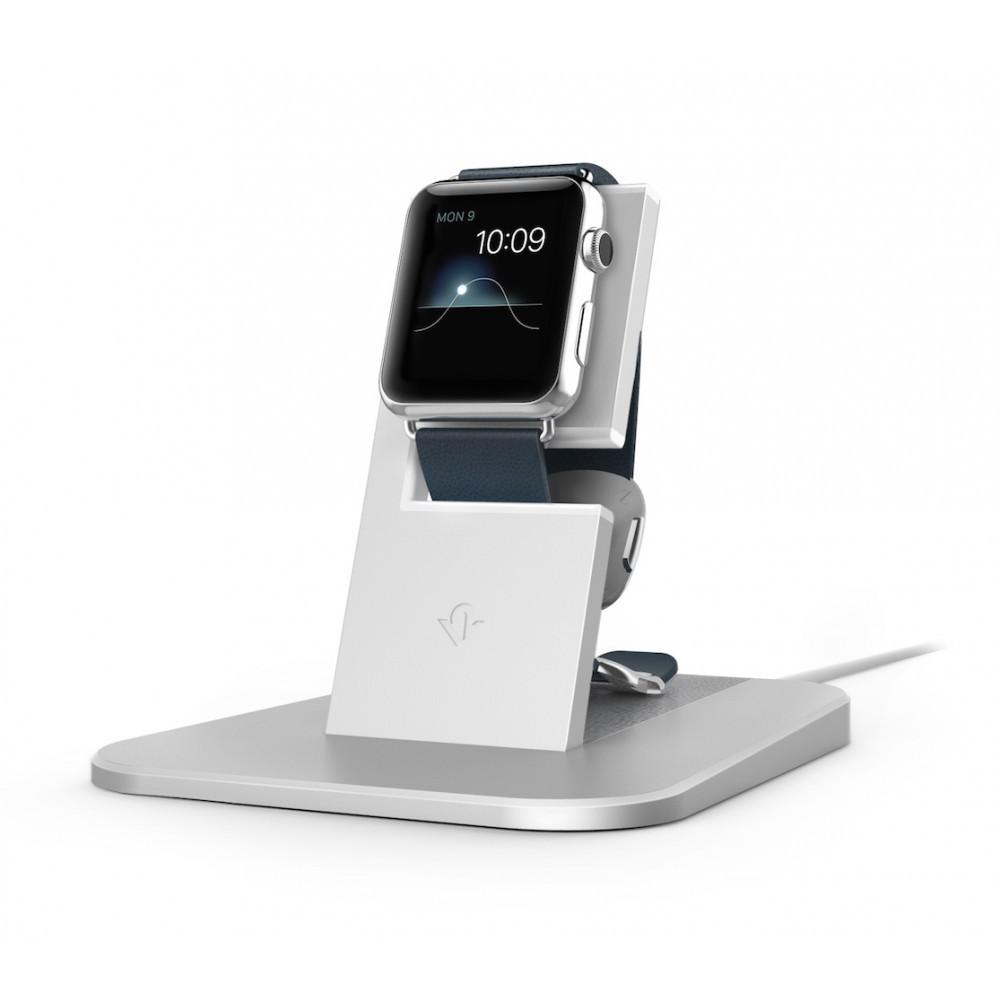 Twelve South HiRise Apple Watch zilver