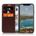 Casecentive Leren Wallet case Luxe iPhone 11 Pro Max bruin
