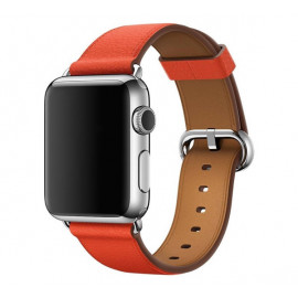Apple Classic Buckle - Cinturino per Apple Watch 38mm / 40mm - Rosso
