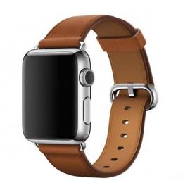 Apple Classic Buckle - Cinturino per Apple Watch 38mm / 40mm - Saddle Brown