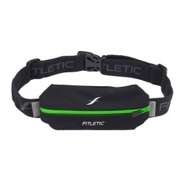 Fitletic Lycra Mini Sport Belt Black / Green