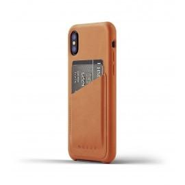 Mujjo Leren Wallet Case iPhone X bruin