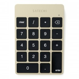 Satechi Slim Wireless Keypad goud