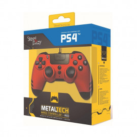 Steelplay MetalTech - Controller - Rosso rubino