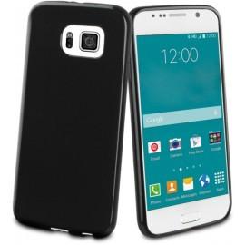 Muvit Minigel Case Galaxy S6 Glossy zwart