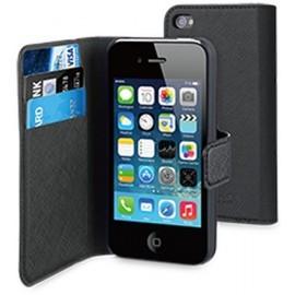 Muvit Wallet Case iPhone 4(S) zwart