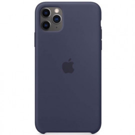 Apple silicone case iPhone 11 Pro Max Midnight Blue