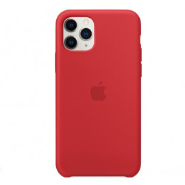 Apple silicone case iPhone 11 Pro rood