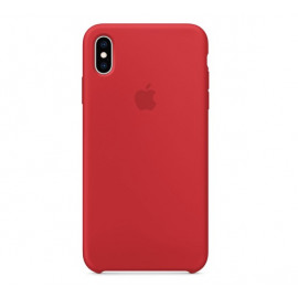 Apple Silicone Case iPhone XS Max rood