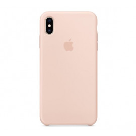 Apple silicone case iPhone XS Max Pink Sand