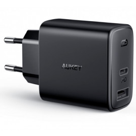 Aukey 2 Port Power Delivery Charger 30W (USB A + USB C)