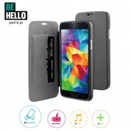 Be Hello Book Case Galaxy S5 / S5 Neo zwart