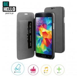 Be Hello Book Case Galaxy S5 / S5 Neo zwart