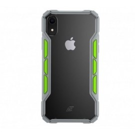Element Case Rally iPhone XS Max lichtgrijs / groen