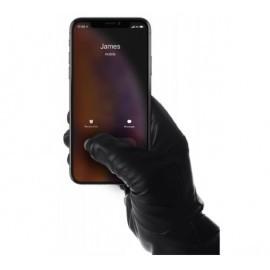 Mujjo Leather Touchscreen Gloves Size 9 zwart