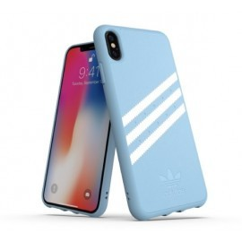 Adidas OR Moulded Case iPhone XS Max lichtblauw