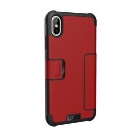 UAG Hard Case Metropolis iPhone XS Max rood