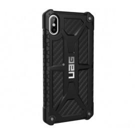 UAG Hard Case Monarch iPhone XS Max Carbon zwart