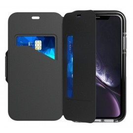 Tech21 Evo Wallet iPhone XR zwart