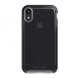Tech21 Evo Check iPhone XR transparant / zwart