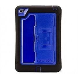 Griffin Survivor Slim iPad Mini 4 blauw/zwart