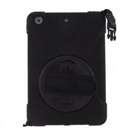 Xccess AirStrap case met handvat en schouderriem iPad Mini 1/2/3 zwart