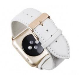 dbramante1928 Copenhagen Apple Watch bandje 42 / 44 mm wit