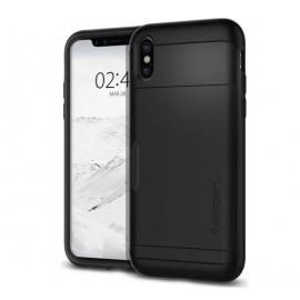 Spigen Slim Armor CS Case iPhone X / XS zwart