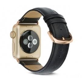 dbramante1928 Madrid Apple Watch Strap 42mm / 44mm Night Black