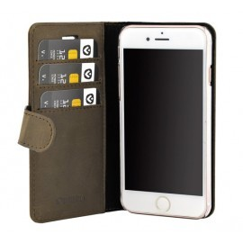 Valenta Booklet Classic Luxe Vintage Brown iPhone 6(S) / 7 / 8 / SE 2020