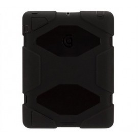 Griffin Survivor All-Terrain hardcase iPad 2 / 3 / 4 zwart