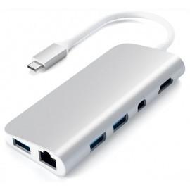 Satechi - Adattatore Multiporta - USB-C - Argento