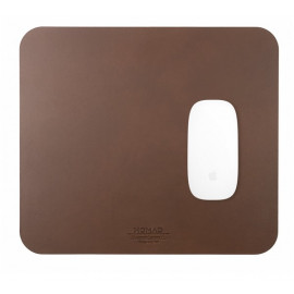 Nomad Mousepad Leather bruin